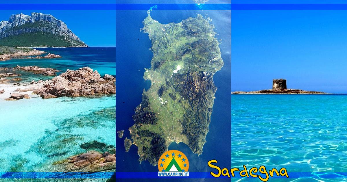 Cartina Campeggi Sardegna.Campeggi Sardegna Camping Sardegna Villaggi Sardegna